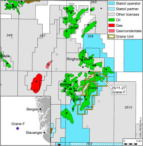 Statoil, together with partners in the Grane Unit, has made a new oil discovery in the Grane field in the North Sea.
