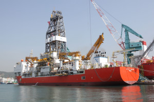Dolphin Drilling recently unveiled its new deepwater drillship, the Bolette Dolphin. The rig is equipped to operate in 12,000 ft of water with a maximum drilling depth of 40,000 ft.