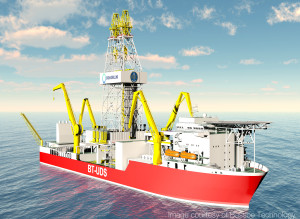 ABB will provide power & propulsion plant and preventive maintenance systems for a drillship of the BT-UDS design. The ABB systems will allow for DNV notations recognizing redundancy in the rig's power and DP systems.