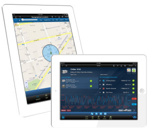 GE has released an iPad application to connect to software collecting well information, such as flow rate, pressure and temperature.