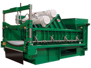 Derrick Equipment Co recently introduced the Hyperpool four-panel shale shaker. It can be configured in three ways: primary shaker, mud cleaner or as a secondary drier for drilled cuttings.