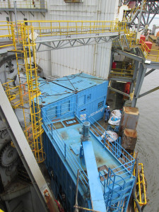 Glencore Exploration Cameroon has been using the TCC RotoMill to support its offshore drilling campaign. The TCC RotoMill can process up to 10 tons of cuttings per hour, 24 hours a day.