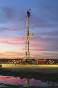 A Nabors Millennium well service rig, one of 90 operating primarily in the US land market, works near Cresson, Texas. The rig was designed with a PLC electrical control system that has several built-in safety features, including a hands-free feed-off mechanism that controls weight-on-bit for milling out plugs and packers.