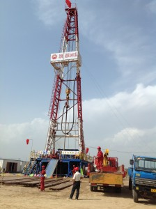 Rig 30602 from CNPC Bohai Drilling Engineering Company operates for Far East Energy on the Shouyang CBM project in Shanxi Province.