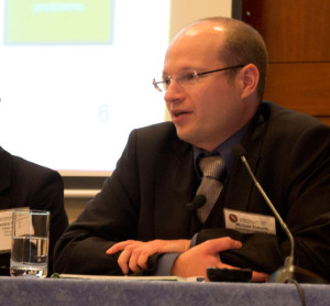 Michael Schuetz, policy officer, Directorate-General for Energy of the European Commission, discussed the commission's efforts to provide member states guidance to regulate shale gas activities.