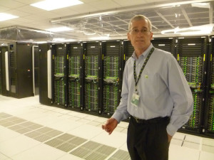 Networking and storage have been separated from the computing side at the new BP CHPC. Keith Gray, HPC manager for BP, said this allows for more redundancy in power and cooling and a more typical computer room temperature.