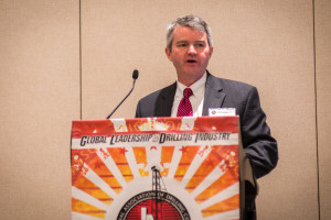 NOV announced Clay Williams as Miller's successor in the two positions. Williams is shown here at the 2013 IADC Annual General Meeting in San Antonio, Texas in early November.