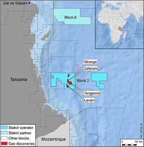 The Mronge-1 discovery is 20 km north of the Zafarani discovery. The  natural gas discovery brings the total of volumes up to 17 to 20 Tcf in Block 2.
