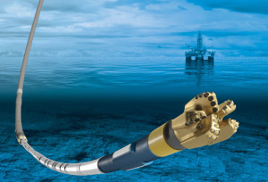 The SureTrak steerable drilling liner service is a hybrid system from Baker Hughes' drilling and completions groups. The service combines rotary steerable and liner drilling technologies to drill through trouble zones, evaluate the formation and place a liner in a single run.