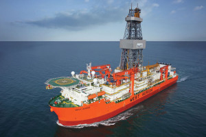 Seadrill's West Auriga drillship, capable of operating in up to 12,000 ft of water, has begun development drilling on BP's Thunder Horse field in the US Gulf.