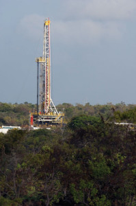 Nabors Rig 669, a PACE 1,500-hp AC electric rig, is one of two rigs working in eastern Venezuela for the Petrocedeño JV with state-owned oil company PDVSA and Statoil. The rig was contracted by service company PDVSA Services.