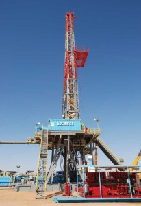 "Egyptian Drilling Company's Rig 55 is a 2,000-hp modern ""cyber rig"" operating in Egypt's northwestern desert, where most of the contractor's onshore fleet is located. Built in 2008, the rig can drill wells up to 20,000 ft and is one of 33 land rigs the company has working in Egypt."