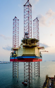 Maersk Intrepid is one of four ultra-harsh environment jackups and will be delivered within 2014 to 2015 to begin a four-year contract with Total E&P Norge AS in the North Sea.