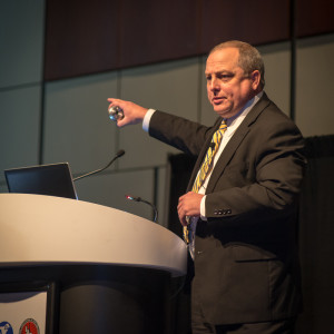 The intensity and variability of horizontal drilling in the US is putting more pressure on equipment and people, H&P's Jeff Flaherty said during a plenary session at the 2014 IADC/SPE Drilling Conference in Fort Worth, Texas.