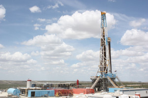 Latshaw Drilling's 2,000-hp Rig 16 is a Mid-Continent U-1220-EB rig capable of skidding. The SCR unit is currently working in the Permian Basin for Apache.