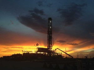 Oxy currently operates a fleet of 90 onshore rigs, which includes 27 rigs in the Permian (pictured). The operator is shifting to more horizontal drilling and expects half of its wells in the Permian will be horizontal by the end of 2014.