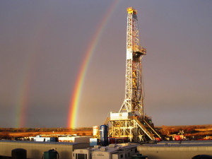 Latshaw's Rig 8, a National 1320-UE rig, is operating in the Permian for Tall City Exploration. The 2,000-hp SCR rig also features a walking system.