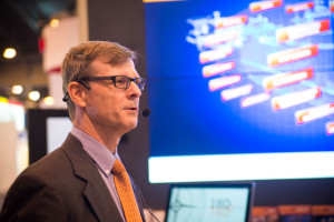Wärtsilä's Paul Glandt addressed four major customer concerns of LNG as a marine fuel at the 2014 OTC in Houston.