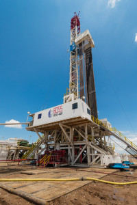 Rig 401, the first in Unit Drilling's BOSS series, is working in the Granite Wash for Unit Petroleum. The rig is ideal for horizontal and pad drilling operations, according to the company.