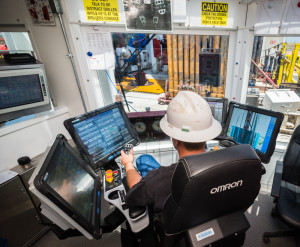 To prepare its crews for the new technologies on the BOSS rigs, Unit Drilling is putting its employees through approximately 60 days of training.