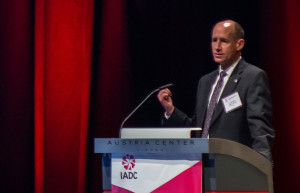 Jay Minmier, 2014 IADC Chairman and President of Nomac Drilling, announced the official launch of the IADC Knowledge, Sills and Abilities Program at IADC World Drilling 2014 in Vienna on 18 June.