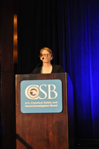 Dr Mary Beth Mulcahy oversaw the CSB's technical analysis and explained that pipe buckling can occur when a well is shut-in.