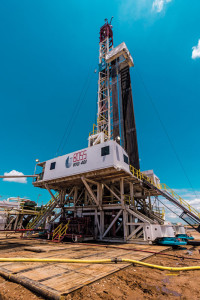 Rig 401, the first in Unit Drilling's BOSS series, is working in the Granite Wash for Unit Petroleum, drilling horizontal wells with 14,500- to 16,000-ft MDs. The rig is ideal for horizontal and pad drilling operations, according to the company.