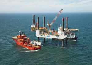 The Swift 10 is an independent leg cantilever jackup rated for up to 147 ft of water. It is drilling offshore the Netherlands for NAM under a five-year contract with options for another five years.