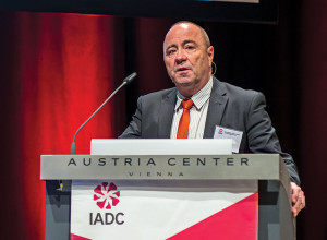 Taf Powell, IADC Executive VP of Policy, Government & Regulatory Affairs, provided an industry update at IADC World Drilling 2014 in Vienna in June.