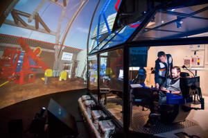 Technical and non-technical training are heavily integrated at Maersk Training. The company uses advanced simulation technologies to let students practice theories taught in the classroom.