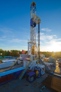 Nomac's Peake Rig #70 operating in Ohio