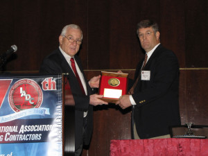 in 2012 and an Exemplary Service Award to H&P's Warren Hubler in 2010.