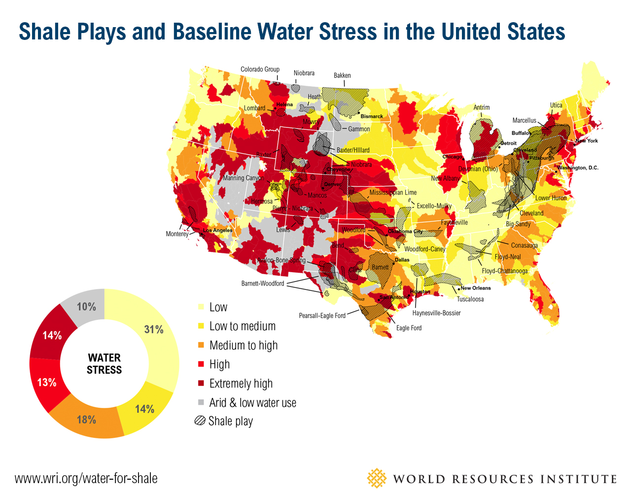 The Other Precious Resource Drilling Contractor - Us water tds map