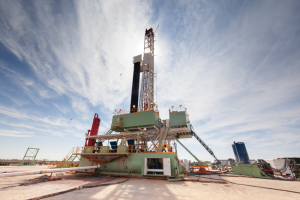 Precision Rig 575 is operating in the Permian Basin outside of Midland, Texas. Improved drilling and completion performance has fueled the industrialization of the well construction process.