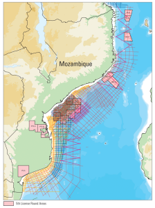 The new seismic survey includes extensions to the original program in the Mozambique Channel, south extension offshore the Limpopo River and the Rovuma Basin.