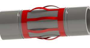 The inter casing centralizer sub (ICCS), a collaboration between Centek and Halliburton, was launched at the 2015 OTC. The ICCS is equipped with Centek's UROS centralizer technology, which is installed on a sub body by Halliburton.
