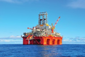The Transocean Barents is working for Shell at a dayrate of $550,000, completing plugging and abandonment of a production well on the Draugen field offshore Norway. The ultra-deepwater semisubmersible is designed to operate in a maximum water depth of 10,000 ft and can drill to a maximum depth of 30,000 ft. The rig is equipped with four 2,200-hp mud pumps that each have a 7,500-psi working pressure. It also has eight 6,000-hp variable speed Rolls Royce Aquamaster thrusters.