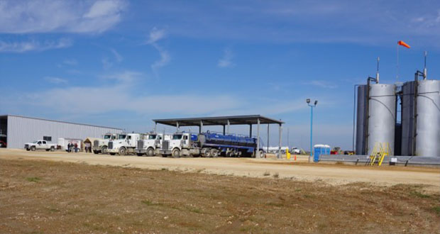 The Fortress Environmental SWD site is located between Waelder and Gonzales in Texas on Highway 97, a quarter-mile south of Interstate 10. In addition to saltwater disposal, the facility offers truck wash and frac tank washout services.