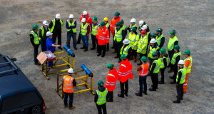 More than 30 engineers from operator and service companies were invited to witness the first full rig test of the HyPR HoleSaver in Aberdeen in May. The full-strength sub was cut in 112 minutes.