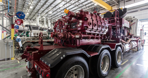 The SPM QEM 3000 was designed for continuous-duty pressure pumping operations at a sustained 275,000-lb road load, 24 hours per day, seven days per week.