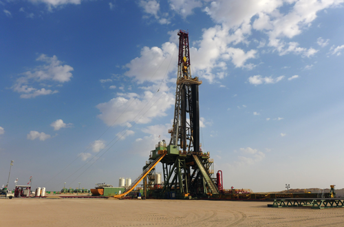 Grey Wolf Drilling International's Rig 901 drills in Kuwait. Although a long period of high oil prices have created an oversupply of rigs in North America, there are still few stacked rigs in the Middle East. Rigs built for North American shale are also unlikely to move to international markets due to different rig requirements and the large capital investments needed for mobilization.