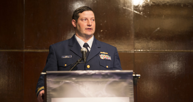 The US Coast Guard is working on several projects to help protect the maritime industry from cyber threats, Lt. Cmdr. Josh Rose said at the 2016 IADC HSE&T Conference in Houston on 3 February.