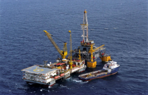 A typical Keppel FELS drilling tender semisubersible with drilling packages transferred onto a TLP. Image courtesy of Keppel FELS.