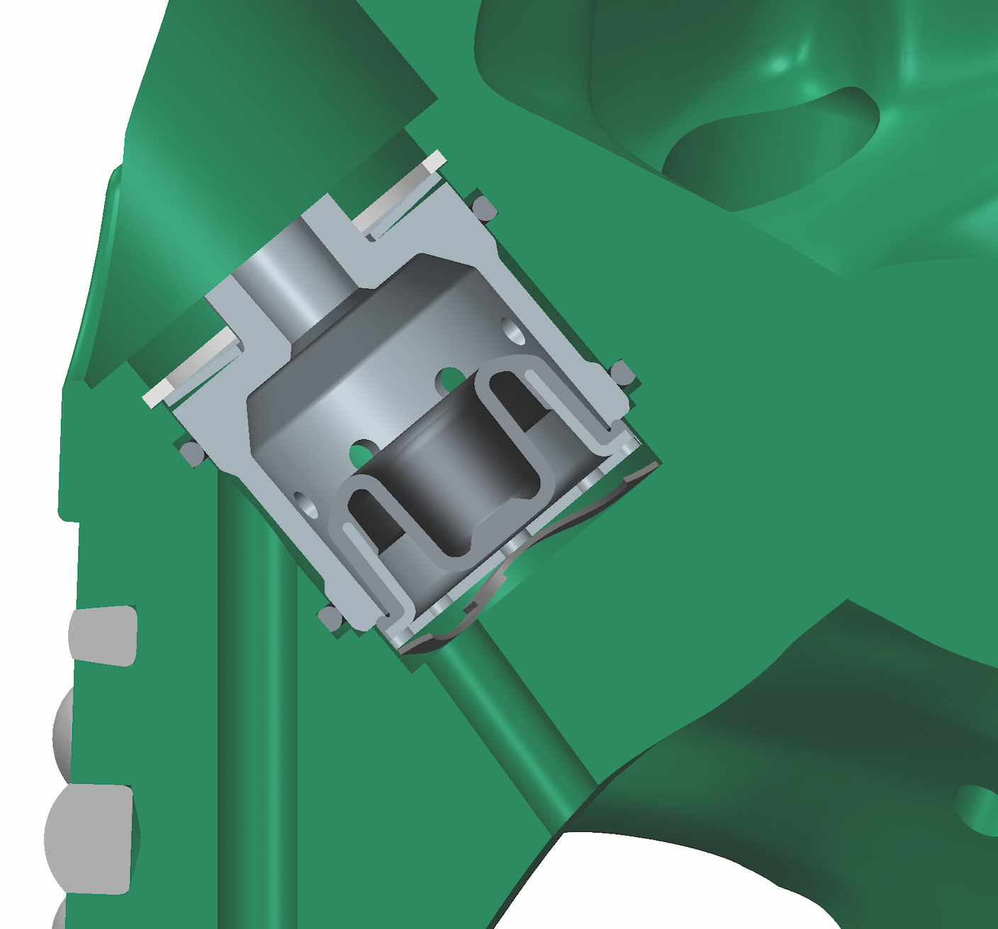 Dual Cutting Structure On Hybrid Roller Cone Bit Increases