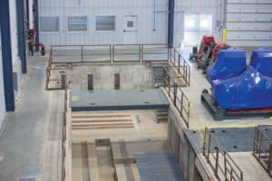 A mud building facility is part of a future phase at the R&D center that will offer parallel downhole testing off of the rig so mud tests and drilling can be done simultaneously.