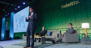 The US is exporting LNG not just to nearby markets but also to markets in China, India and the Middle East, Oliver Tuckerman, Director of Strategy and Analytics for Cheniere Energy, said at the 2016 Deloitte Oil & Gas Conference in Houston on 21 September. Photo Courtesy of Deloitte.