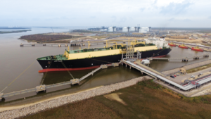 The US Lower 48's first LNG export left Cheniere Energy's LNG train at Sabine Pass in February 2016. The company's two completed LNG trains are now producing approximately 1 bcf/day of LNG and have sent 32 cargos to market as of September.