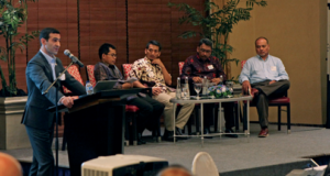 SapuraKencana Drilling's Louay Laham, who is serving as 1st Vice Chairman of the IADC Southeast Asia Chapter, speaks at a chapter meeting in Jakarta, Indonesia, on 24 May. The chapter saw very active participation at the meeting from SKK Migas, APMI, Pertamina, Pertamina Drilling Services Indonesia and Elnusa.