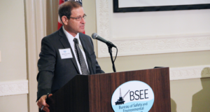 BSEE Director Brian Salerno speaks at a safety forum on 29 August in Washington, DC, where he emphasized the importance of addressing bolt and connector failures as soon as possible to prevent a catastrophic event. Although no such event has occurred to date, Director Salerno cautioned the industry against thinking that such a failure could not occur in the future.