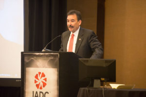 Mike Garvin, Senior VP of Operations Support at Patterson-UTI Company, accepted the 2016 IADC Contractor of the Year award at the IADC Annual General Meeting on 4 November in Scottsdale, Ariz.